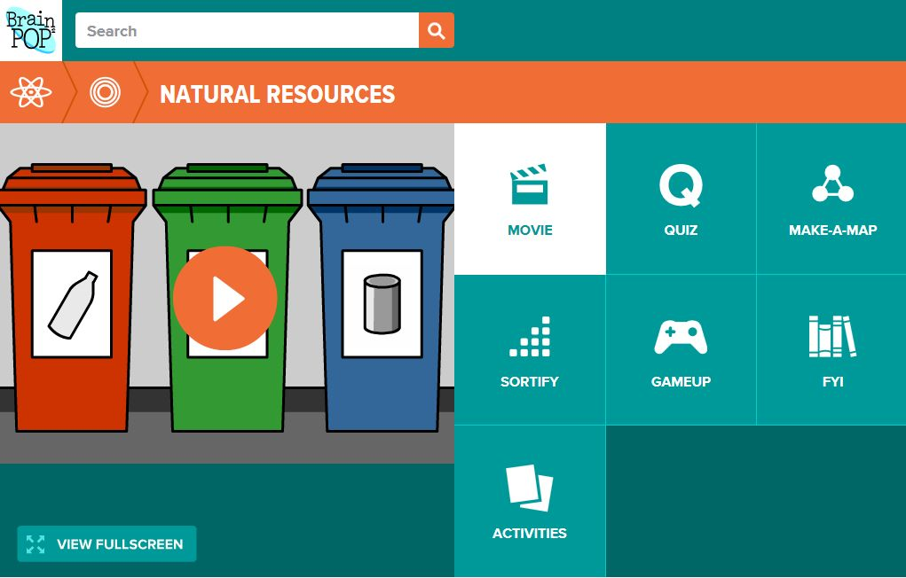 Grade 5 Natural Resources