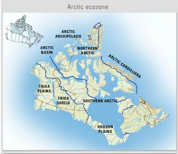 Map Of Canada Grade 6.The Arctic An Integrated Unit Ms Palmer S Classroom Applied